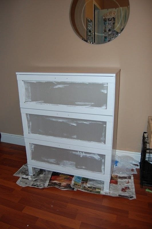 6 Drawer Chest Of Drawers Ikea Dresser Hack · A Drawer · Decorating On Cut Out