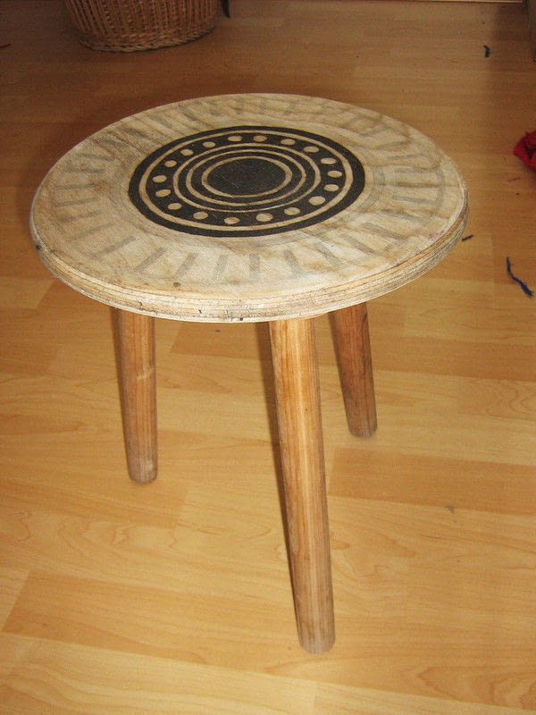Art Amersfoort Pyrography Projects · A Side Table · Decorating And