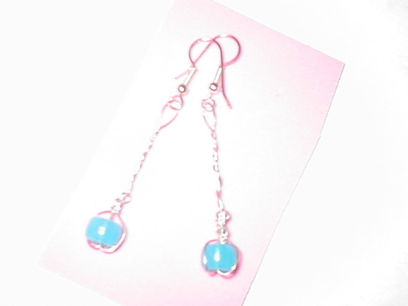 Glow In The Dark Earrings  A Pair Of Chandelier Earrings