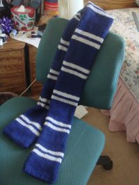 Harry Potter Ravenclaw Scarf  How To Knit Or Crochet A ...
