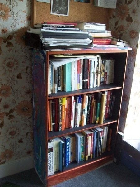 Funky Bookcase A Bookcase Cubby Decorating On Cut
