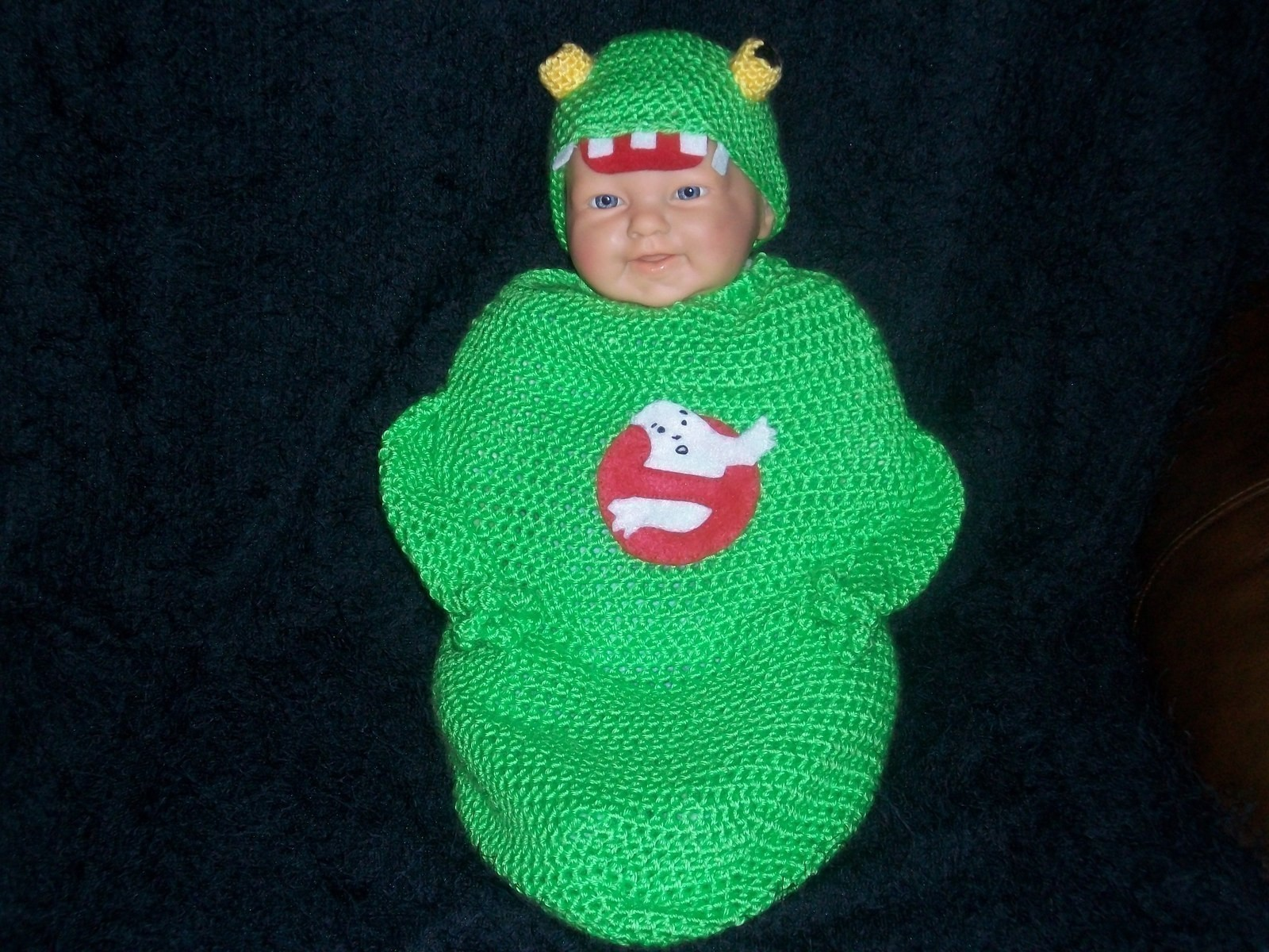 Babies Favorite Toys Slimer Infant Ghostbusters Costume · A Baby Costume