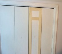 Makeover Old Bi Fold Doors  How To Make A Cupboard ...