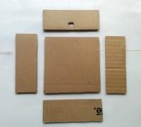 Diy Cardboard Lamp Shade  How To Make A Lamp / Lampshade ...