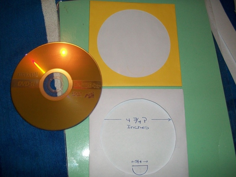 Emergency Paper Sleeves For Cd Or Dvd · How To Make A Cd Cover