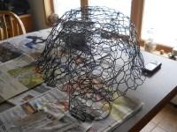 Paper Mache Mushroom Lamp  How To Make A Decorative Light ...