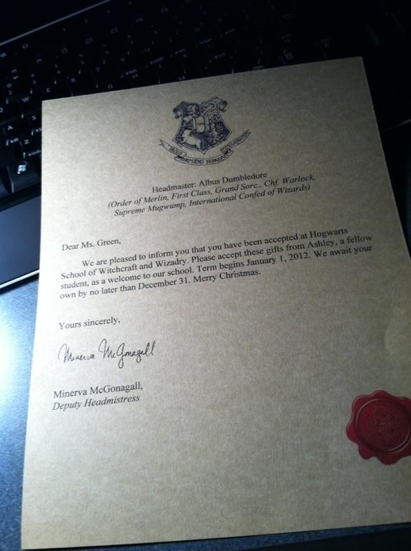 Harry Potter Hogwarts Acceptance Letter · How To Make A Digital - hogwarts acceptance letter