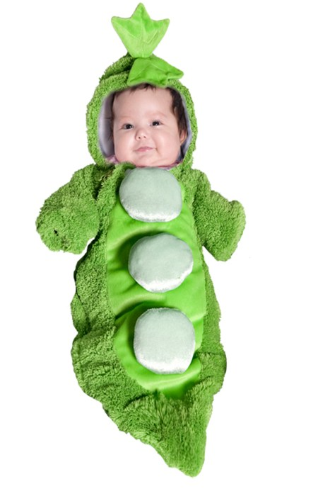 Green Olive Costume Baby
