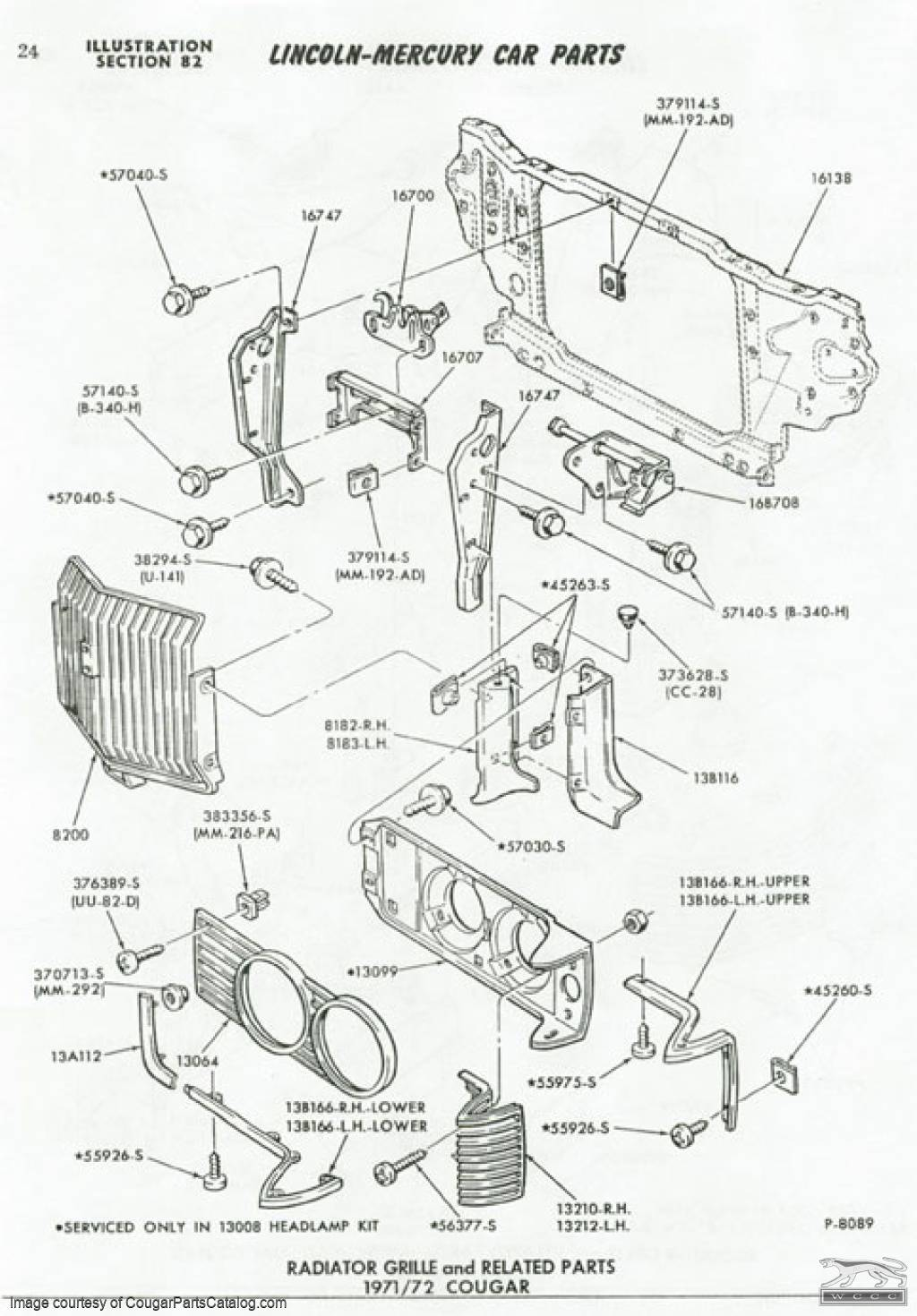 71 cougar wiring diagram