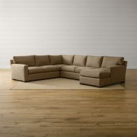 Axis II 4-Piece Sectional Sofa Douglas: Coffee | Crate and ...