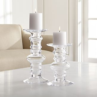 Candle Holders Votive Pillar And Lantern Crate And Barrel