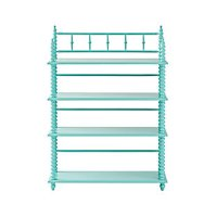 Jenny Lind Kids Bed (Teal) | Crate and Barrel