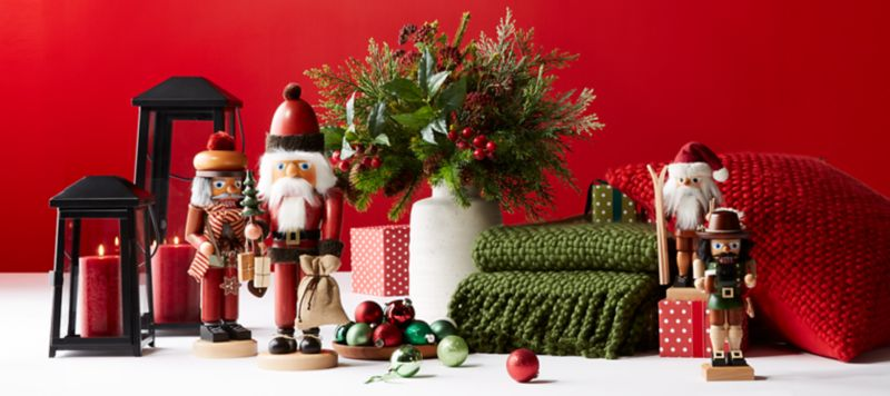 Christmas Tablecloths Australia Christmas Decorations For Home And Tree Crate And Barrel