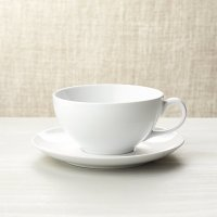 Cappuccino Cup with Saucer | Crate and Barrel