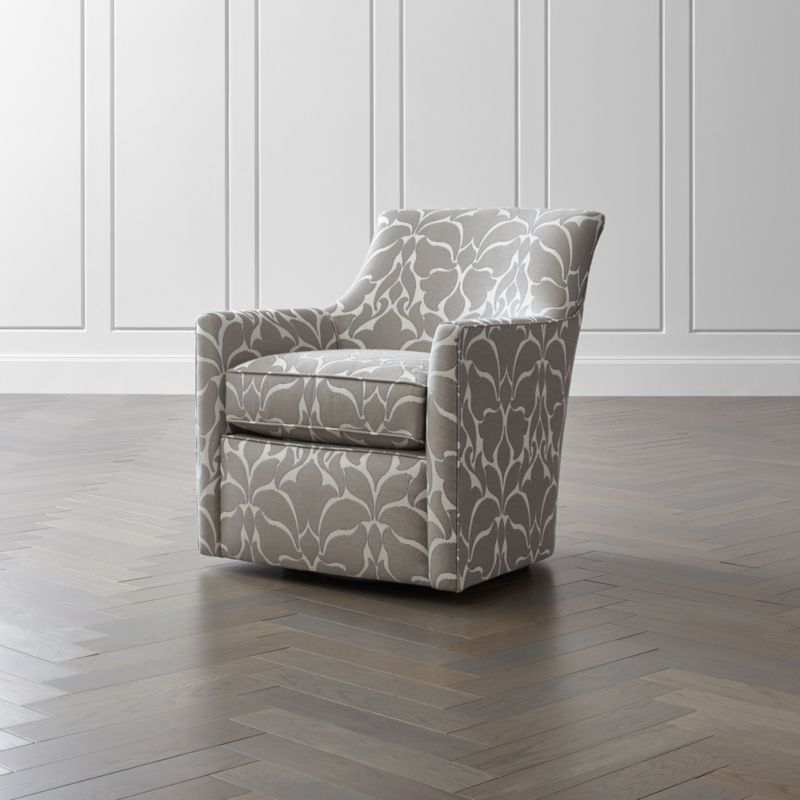 Clara Swivel Accent Chair Reviews Crate And Barrel