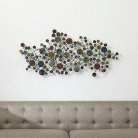 Cosgrove Metal Wall Sculpture | Crate and Barrel