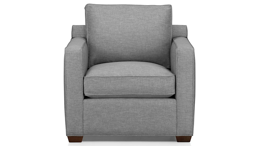 Davis Small Armchair Crate and Barrel - living room armchair