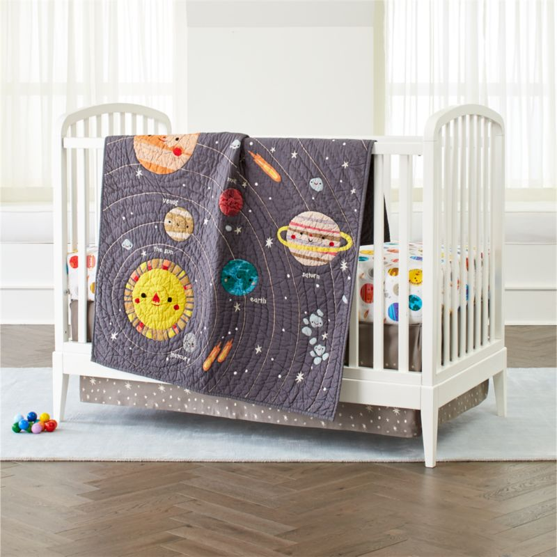 Deep Space Crib Bedding Crate And Barrel
