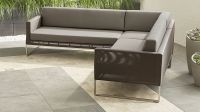 Sunbrella Sectional Sofa B13 Contemporary 3 Piece ...