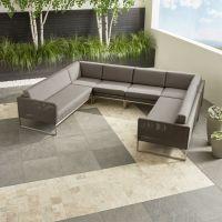 Sunbrella Sectional Sofa Sunbrella Furniture Bernie Phyl S ...