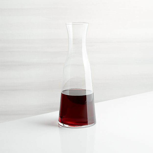 Karaffe Wein Everyday Wine Carafe | Crate And Barrel
