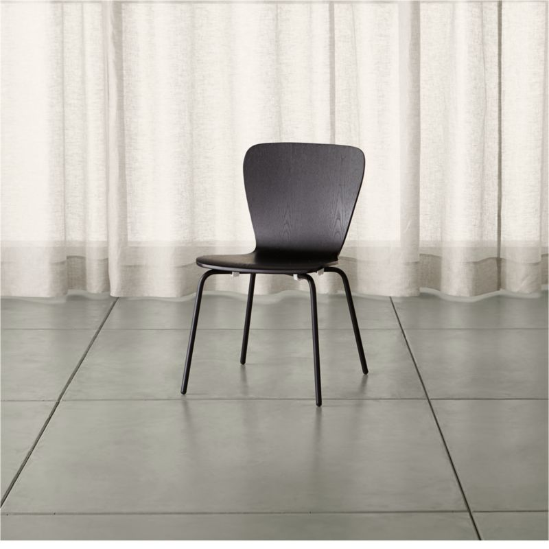 Felix Black Dining Chair Reviews Crate And Barrel