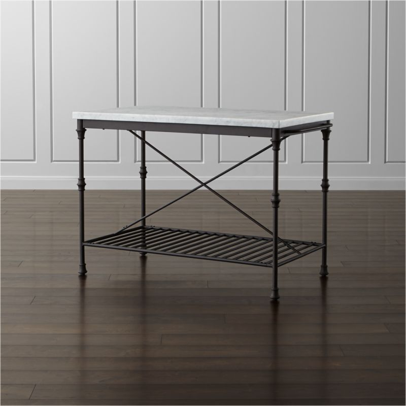 French Kitchen Island Reviews Crate And Barrel