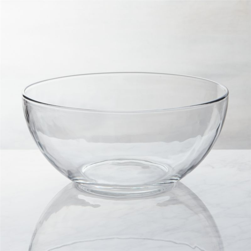Bedroom Night Stands Glass Serving Bowl | Crate And Barrel