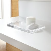 Glass Vanity Tray | Crate and Barrel