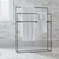 Jackson Standing Towel Rack   Crate and Barrel