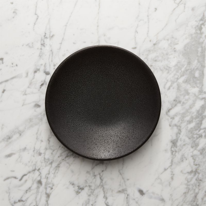Houzz Benches Jars Tourron Black Salad Plate + Reviews | Crate And Barrel