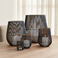 Kent Wire Candle Holders | Crate and Barrel
