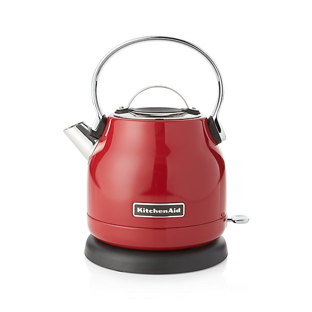 Kitchenaid Wasserkocher Rot Kitchenaid ® Red Electric Kettle | Crate And Barrel