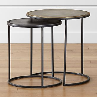 End Tables Accent Tables Crate And Barrel