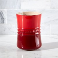 Le Creuset  1 Qt. Cerise Red Utensil Holder | Crate and ...