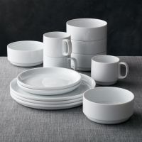 Logan Stacking Dinnerware | Crate and Barrel