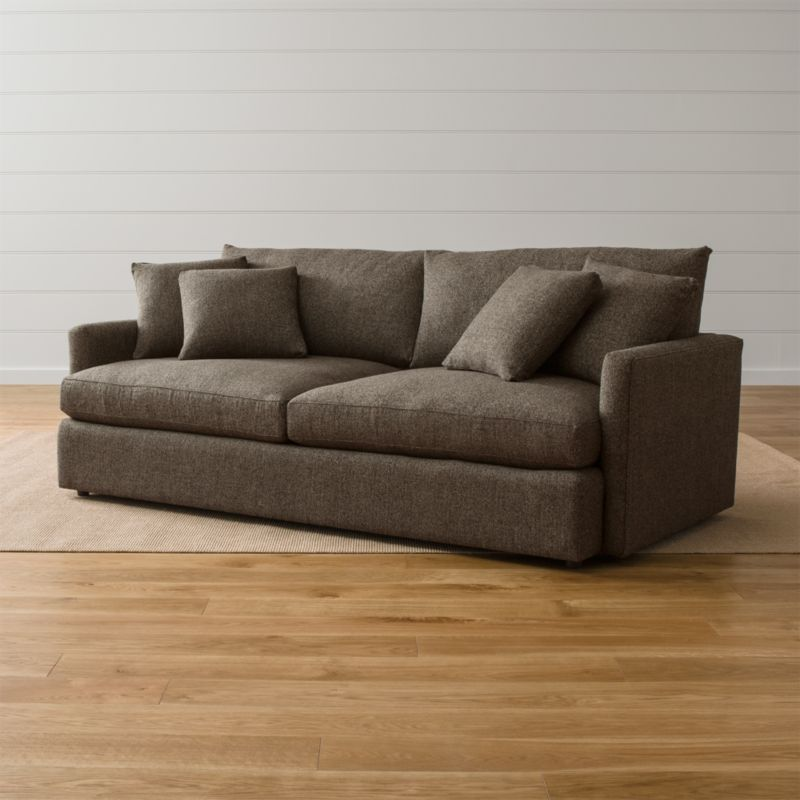 Sofa Design Zip Lounge Ii Large Deep Sofa + Reviews | Crate And Barrel