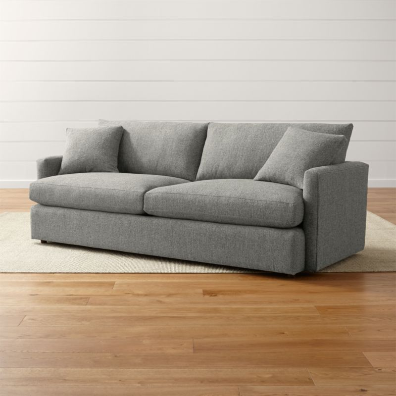 Sofa Fabric Hs Code Lounge Ii Narrow Sofa + Reviews | Crate And Barrel