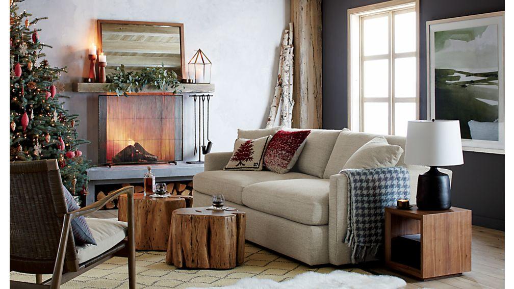 Lounge II 93 - crate and barrel living room