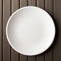 """Lunea Melamine White 10.5"""" Dinner Plate"""