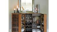 Marin Natural Large Bar/Media Cabinet | Crate and Barrel