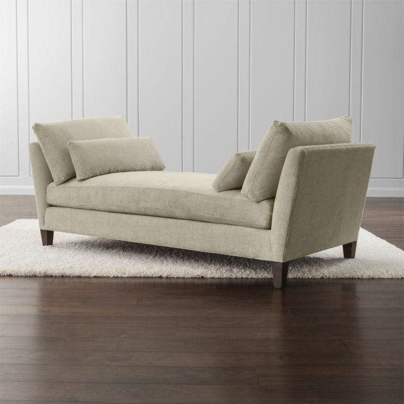Sofa Fabric Hs Code Marlowe Upholstered Daybed + Reviews | Crate And Barrel