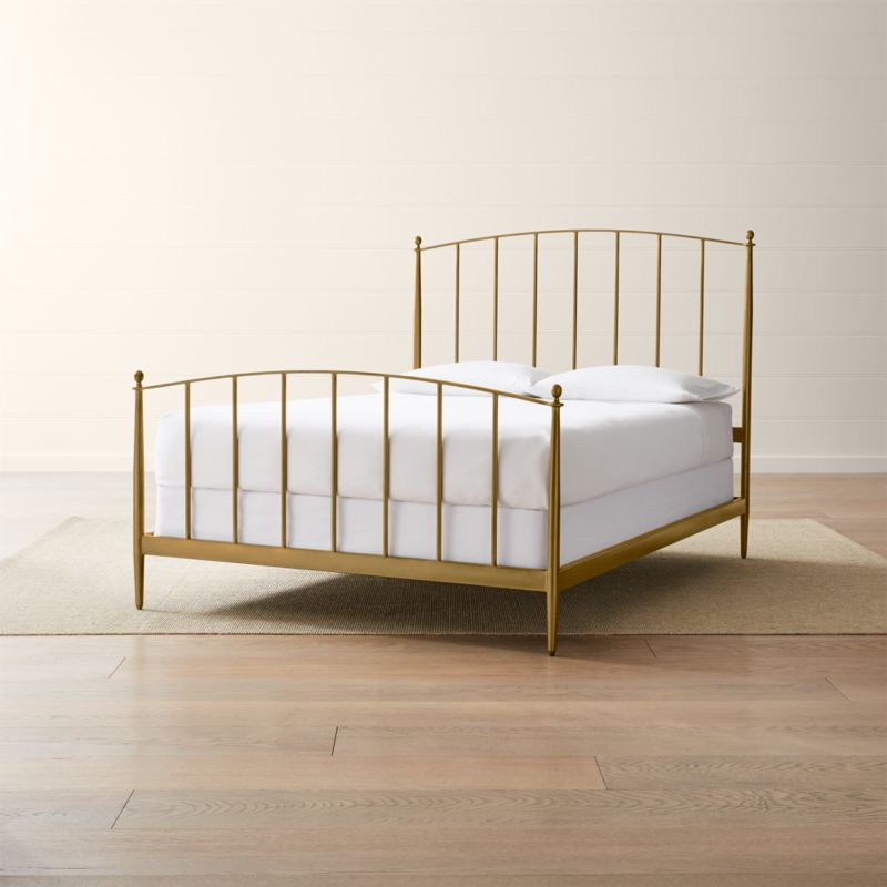 Mason Brass Bed Crate And Barrel