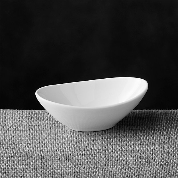 My Houzz Mini Oval Sauce Dish | Crate And Barrel