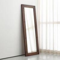 Monarch Shiitake Wood Frame Floor Mirror + Reviews | Crate ...