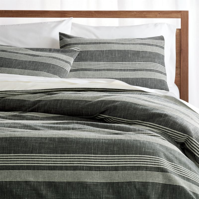 Tan Duvet Cover King Monterey King Duvet Cover | Crate And Barrel