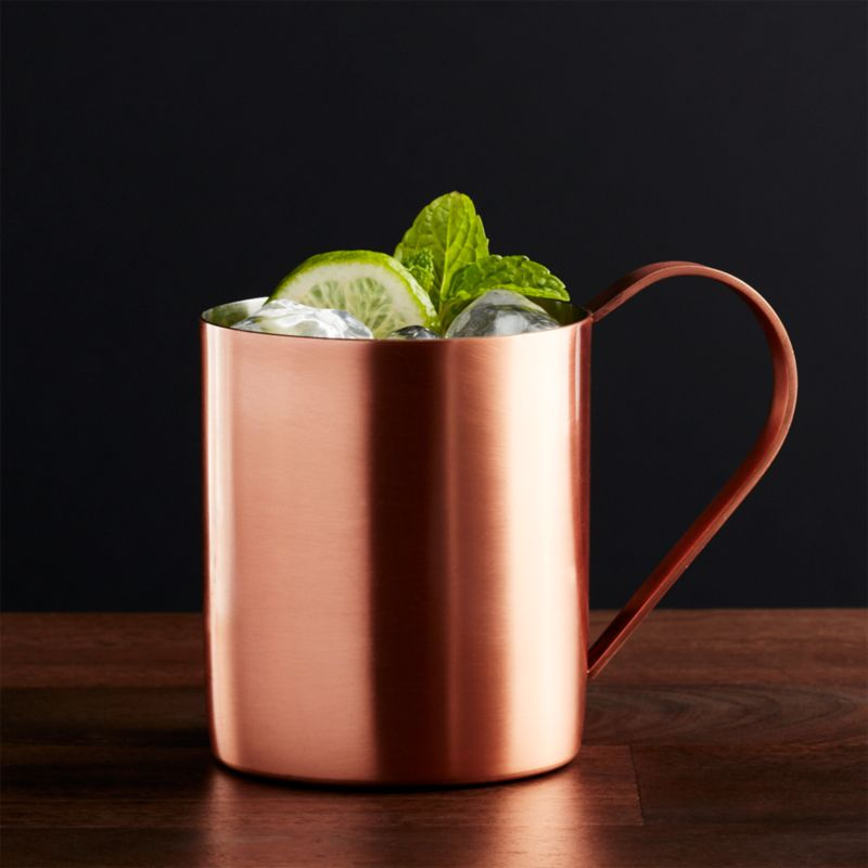 Kitchen Carts Islands Moscow Mule Copper Mug | Crate And Barrel