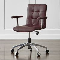 Navigator Saddle Brown Leather Office Chair Allure: Saddle ...