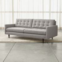 Petrie Mid-Century Sofa + Reviews | Crate and Barrel
