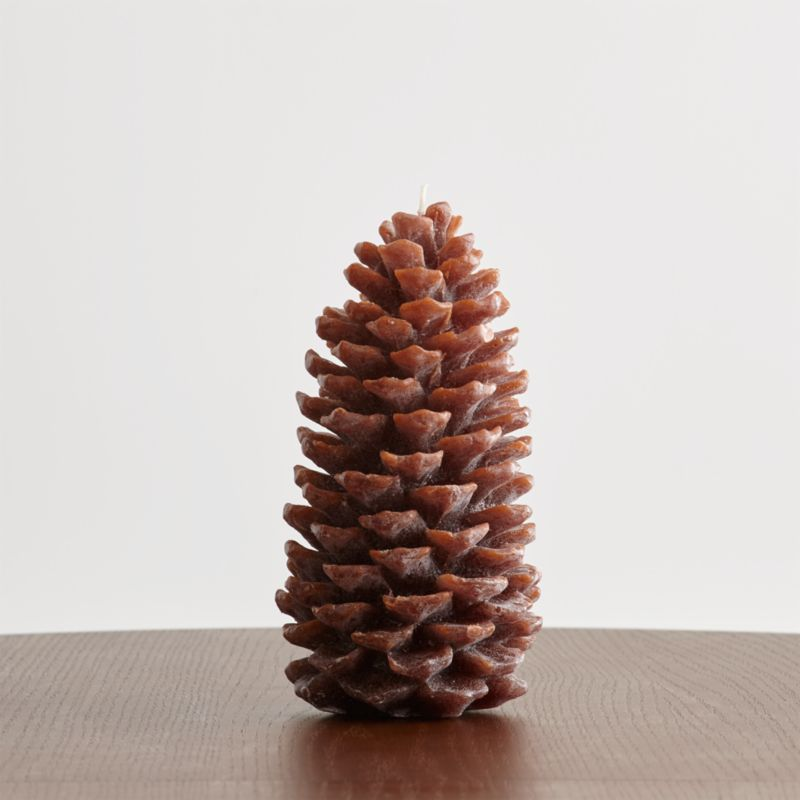 Modular Furniture Large Pinecone Candle + Reviews | Crate And Barrel